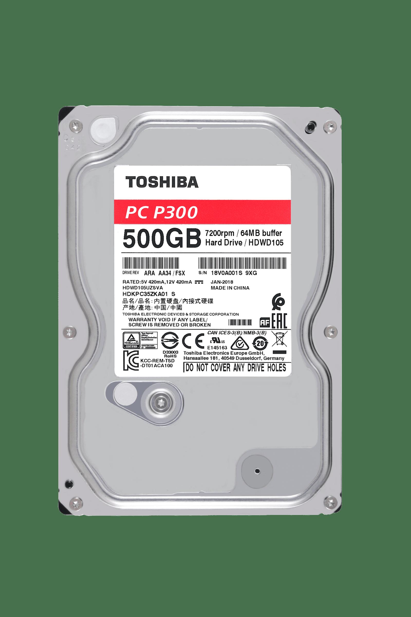 Toshiba P300 2TB 3 5