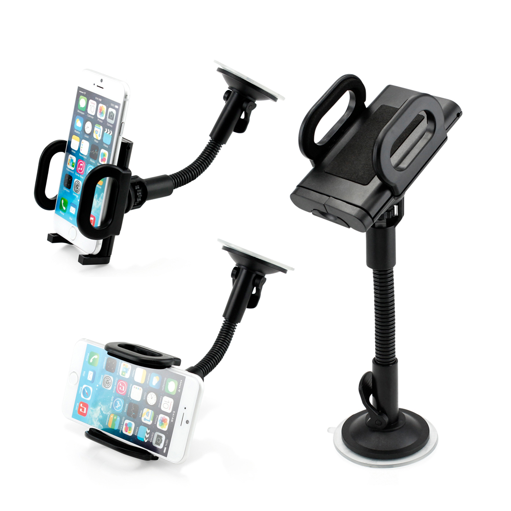 Universal I Shape Windshield Car Mount Holder Bracket For Smart Cell iPhone 6/5/4 Phones iPod Note 4 GPS PDA