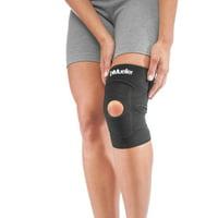 Mueller Adjustable Knee Support, Black, One Size Fits Most