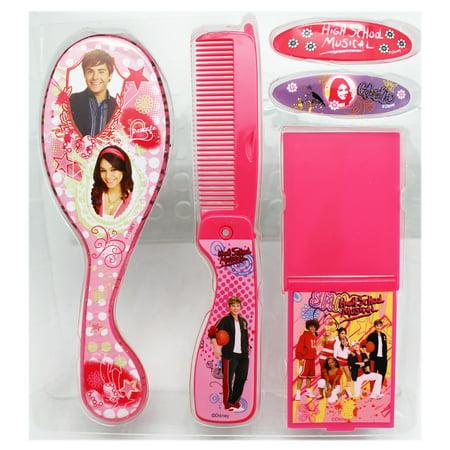 Disney's High School Musical Pink Accessory Hair Care Set (4pc) ()