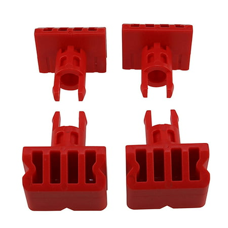 Masterpart 4 x Sturdy Vice Grip Clamp Pegs For Black & Decker Workmate WM747 WM750 (Black Vice)