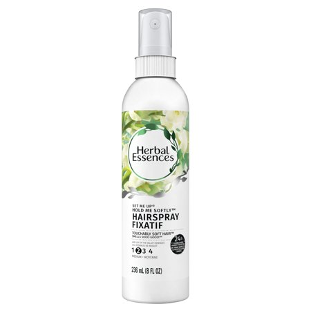 Black Light Hair Spray ((2 pack) Herbal Essences Set Me Up Hold Me Softly Hairspray with Lily of the Valley Essences, 8 fl)