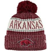 Arkansas Razorbacks New Era Youth Sport Knit Hat with Pom - Cardinal - OSFA