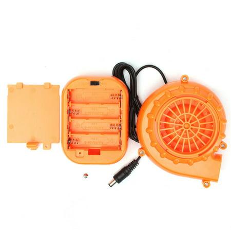 DC 6V 4.8W Power Mini Orange Fan Blower for Mascot Head Inflatable Dress Costume + Battery case](Mascot Uniforms For Sale)