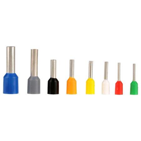 HURRISE Pince à sertir pour embout, Outil de sertissage de borne, 1pcs Fil Pince à sertir outil Pince à sertir de terminal Pince à sertir 0.25-6mm² + 800Pcs - image 5 de 12