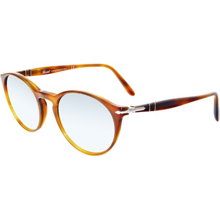 Persol Men's Anti-reflective Terra Di Siena PO3092SM-904130-50 Brown Round Sunglasses Brn 1 Brown Sunglasses