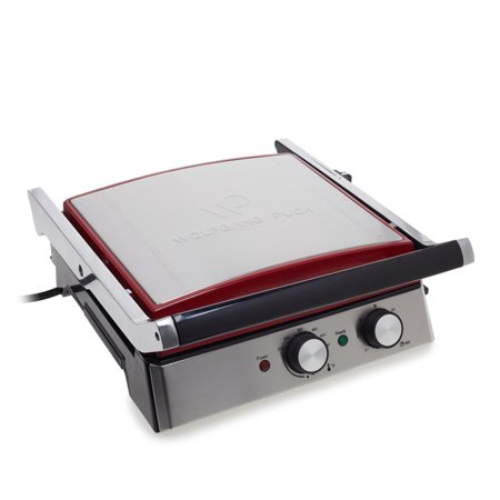 Wolfgang Puck 6-in-1 Reversible Contact Grill and Griddle w/ Recipes