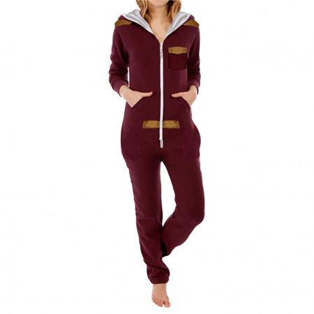 3613d9c3dc7d SkylineWears - SkylineWears Womens Fleece Onesie One Piece Pajama ...