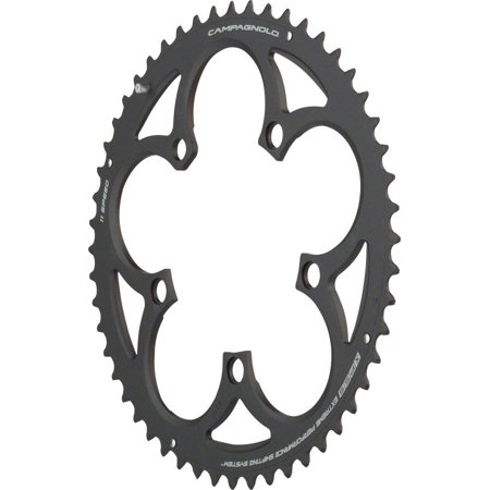 - Campagnolo 11 Speed 52 Tooth CT Chainring for Athena, Black
