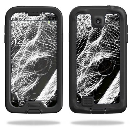 Mightyskins Protective Vinyl Skin Decal Cover for LifeProof Samsung Galaxy S4 Case fre wrap sticker skins Snake Bite