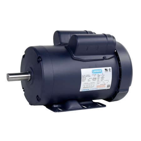 Leeson 121507 00 2Hp 1740 Rpm 115V 60Hz Single Phase General Purpose Usa Made Model C145k17fb24d Run Motor
