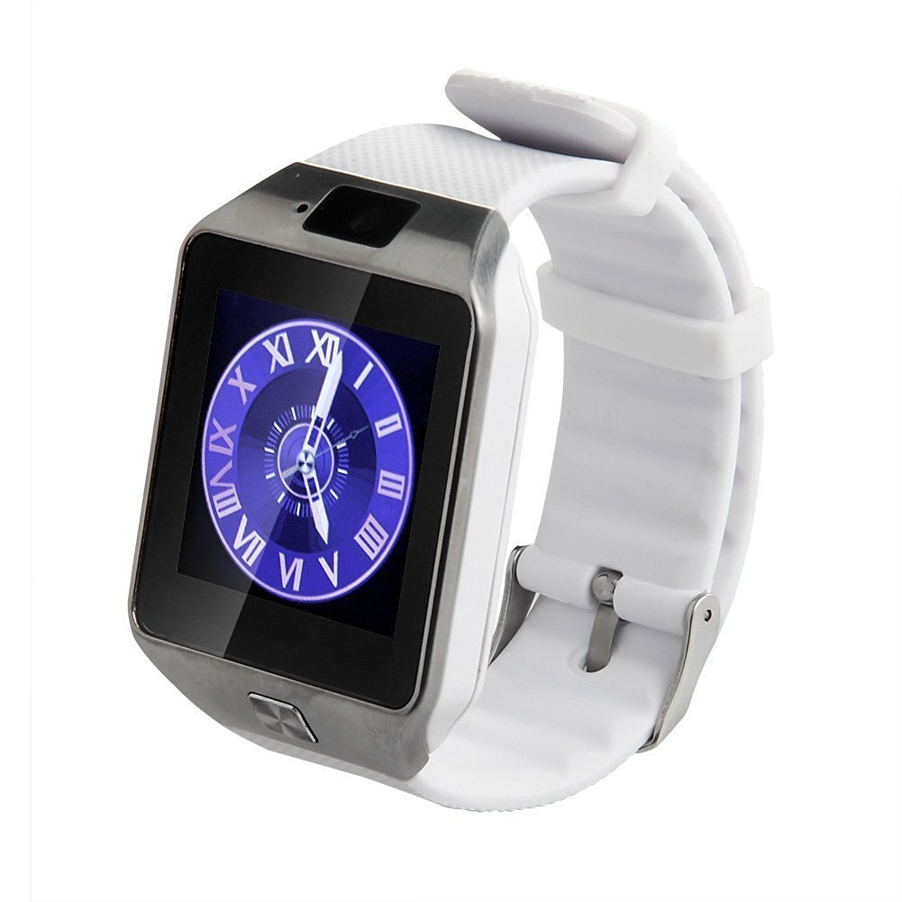 Smart watch All in 1 Bluetooth Watch for iPhone Android Samsung Galaxy Note, Nexus,HTC,Sony, White