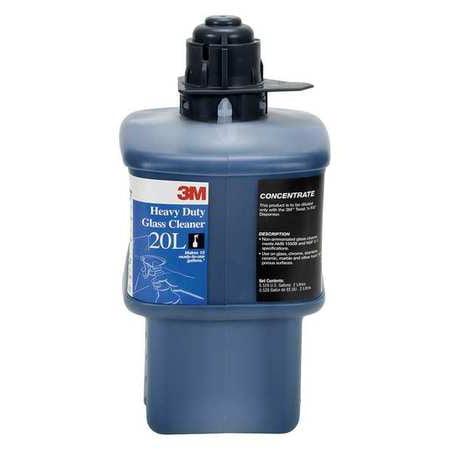 3M Heavy Duty Glass Cleaner,Blue,Bottle