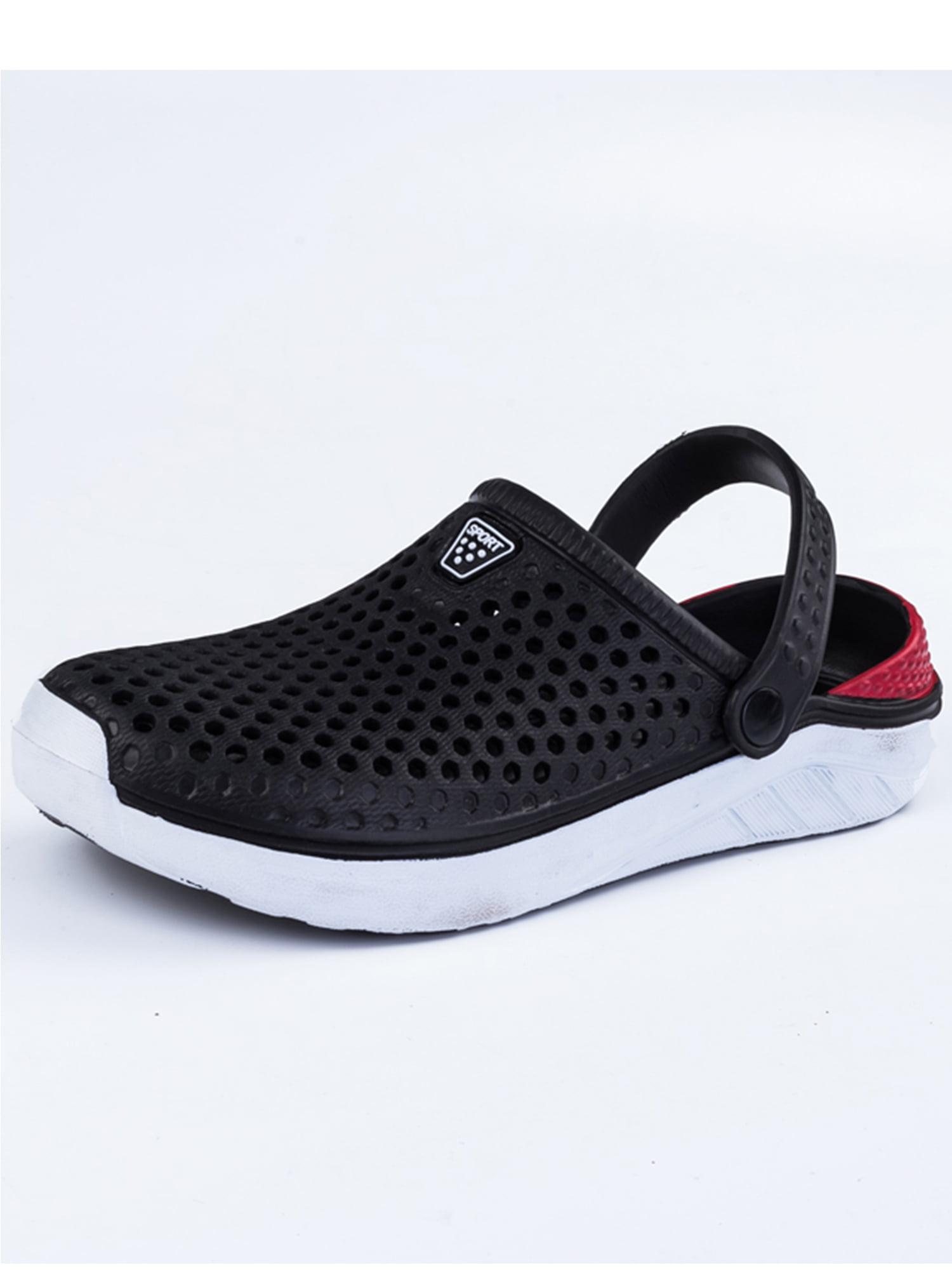 Non-Slip Boys Slide Lightweight Cartoon Slip-on Shoes Beach Pool Shower Slippers HAALIFE◕‿to Summer Garden Clogs Sandals