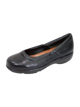 6f26bd9ae241 Product Image PEERAGE Vicky Women Extra Wide Width Leather Slingback Clog