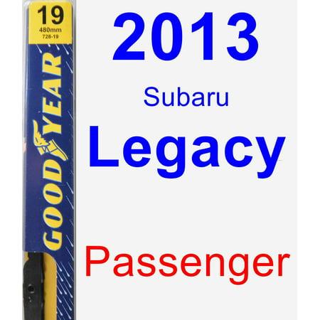 Legacy Wiper (2013 Subaru Legacy Passenger Wiper Blade -)
