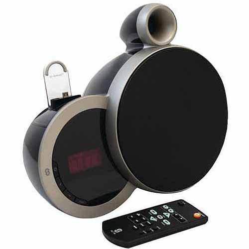 Sherwood America DS-N10 2.0 Speaker System - 12 W RMS - Wireless Speaker(s) - Black