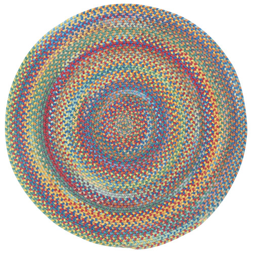 Capel Kill Devil Hill 0210 Braided Rug - Bright Multi