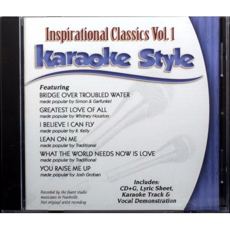 Inspirational Classics Volume 1 Daywind Christian Karaoke Style NEW CD+G 6 Songs ()
