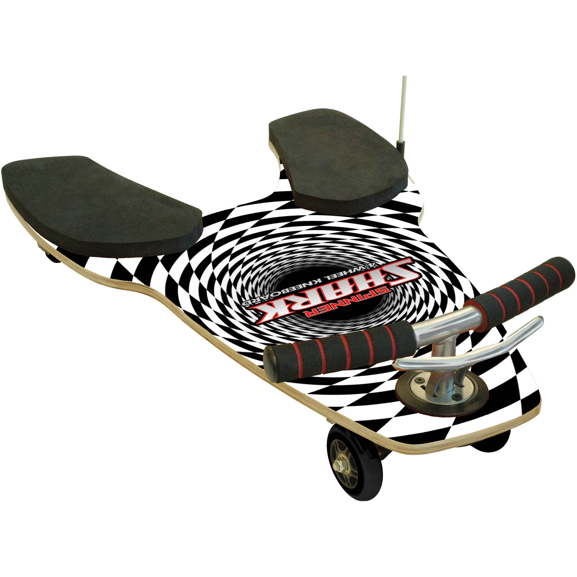 Fuzion Spinner Shark 4-Wheel Ride-On KneeBoard