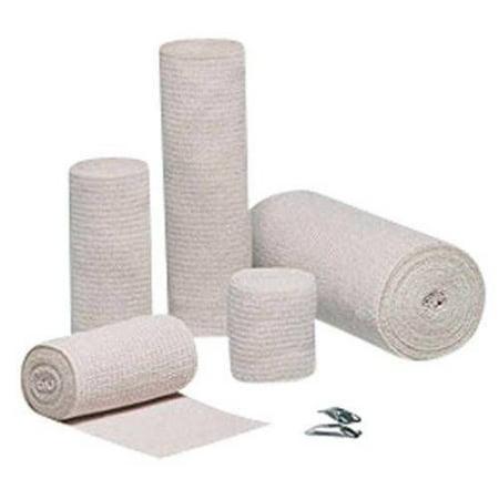 Dukal Elastic Bandage Sports/Body Wraps with Clips Latex Free 6