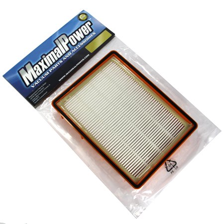 MaximalPower HF2 Hepa Pleated 4800 Series Boss SmartVac Pet Lover Replacement Hepa Filter for Eureka Vacuum Cleaner
