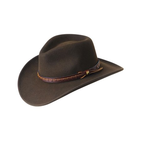 Bailey Cowboy Hat Mens Wool LiteFelt Pinch Front Firehole W05LFJ