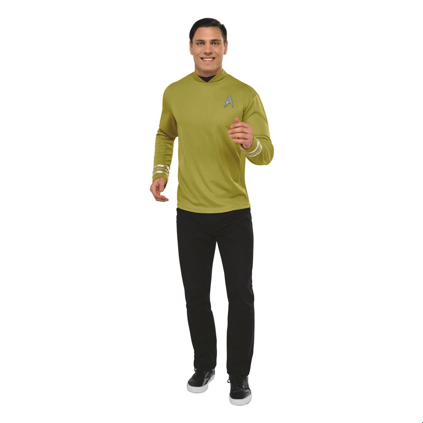 Star Trek Mens Deluxe Captain Kirk Halloween Costume