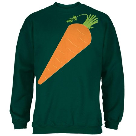 Halloween Vegetable Carrot Costume Mens Sweatshirt