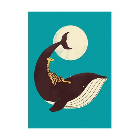 The Giraffe and the Whale Print Wall Art By Jay Fleck