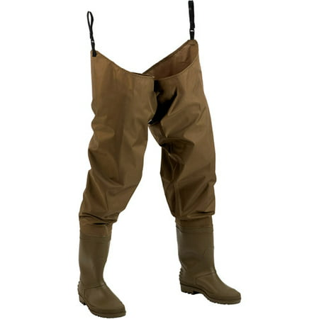 (Hodgman Nylon Hip Wader, Green)