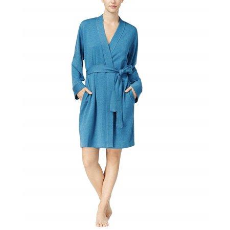 Charter Club French Terry Kimono Robe (Medium Teal Heather, XX-Large) ()