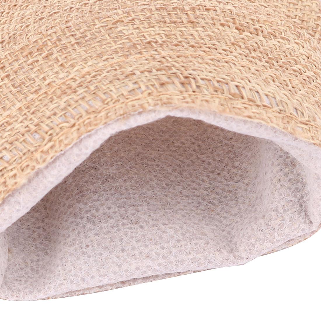 Lady Outdoor Cotton Linen Jewelry Ring Holder Drawstring Bag Pouch Khaki 25pcs - image 2 de 5