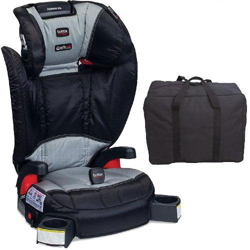 Britax Parkway SGL G1 1 Belt-Positioning Booster Seat with Travel Bag Phanto by Britax