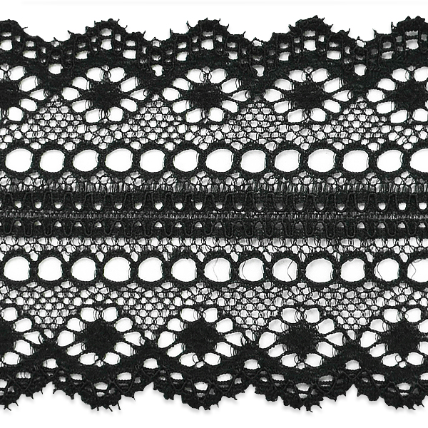 """Expo Int'l 10 yards of Evelyn Lace Trim 1 3/4"""""""