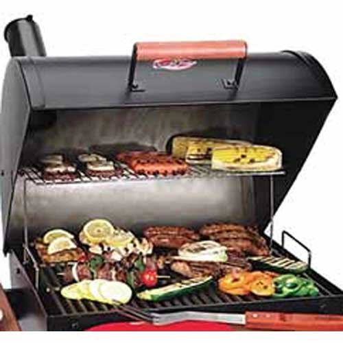 Char-Griller Warming Grill Rack