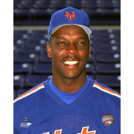Dwight Gooden 1990 Posed Photo Print