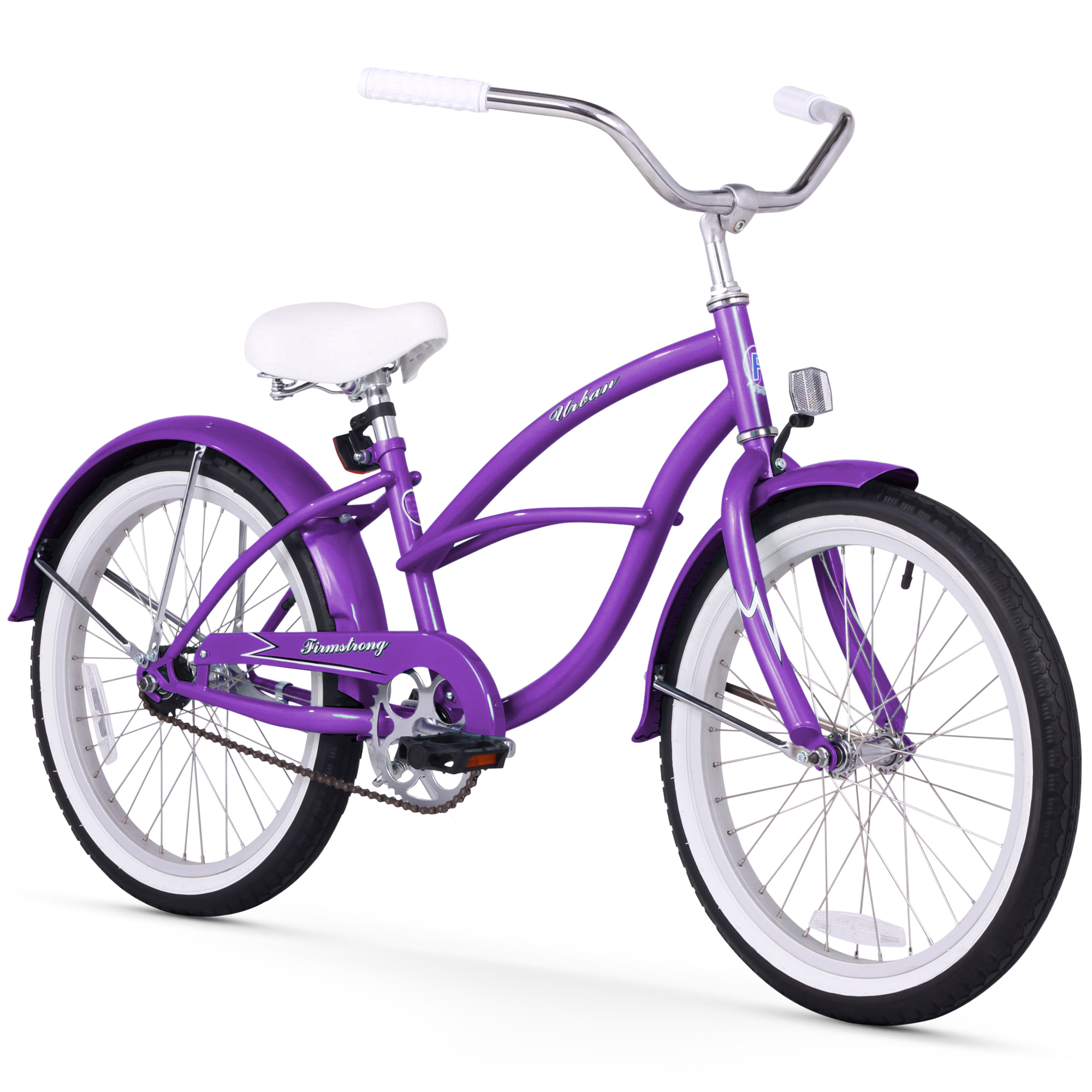 "Firmstrong Urban Girl 20"" Single Speed Beach Cruiser Bicycle"