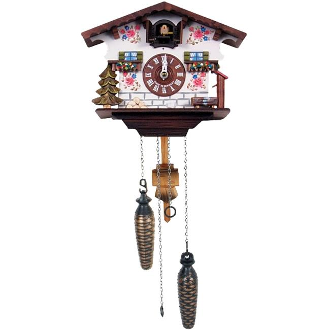 Alexander Taron 418QM Engstler Battery-operated Cuckoo Clock Full Size by Alexander Taron