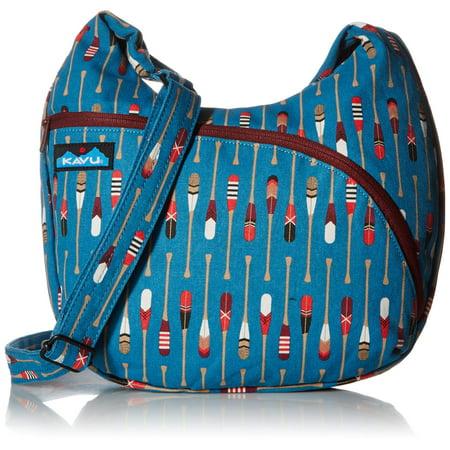 KAVU Sydney Satchel Cross Body Bag Womens Adjustable Shoulder Strap Purse Row House One Size