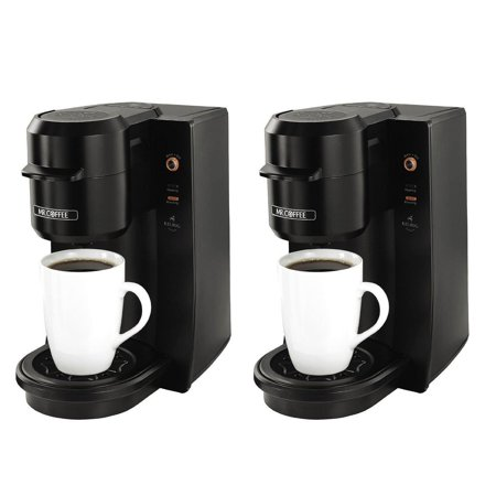 Mr Coffee Single Serve 93 Ounce Black Coffee Maker Brewer Machine