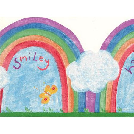 Happy Halloween Wallpaper Hd (873393 Happy & Smiley Rainbow Diecut Wallpaper Border)
