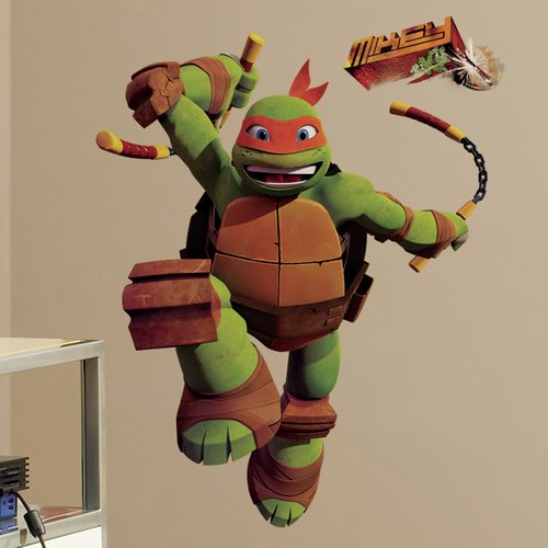 Wallhogs Teenage Mutant Ninja Turtles ''Michelangelo'' Wall Decal