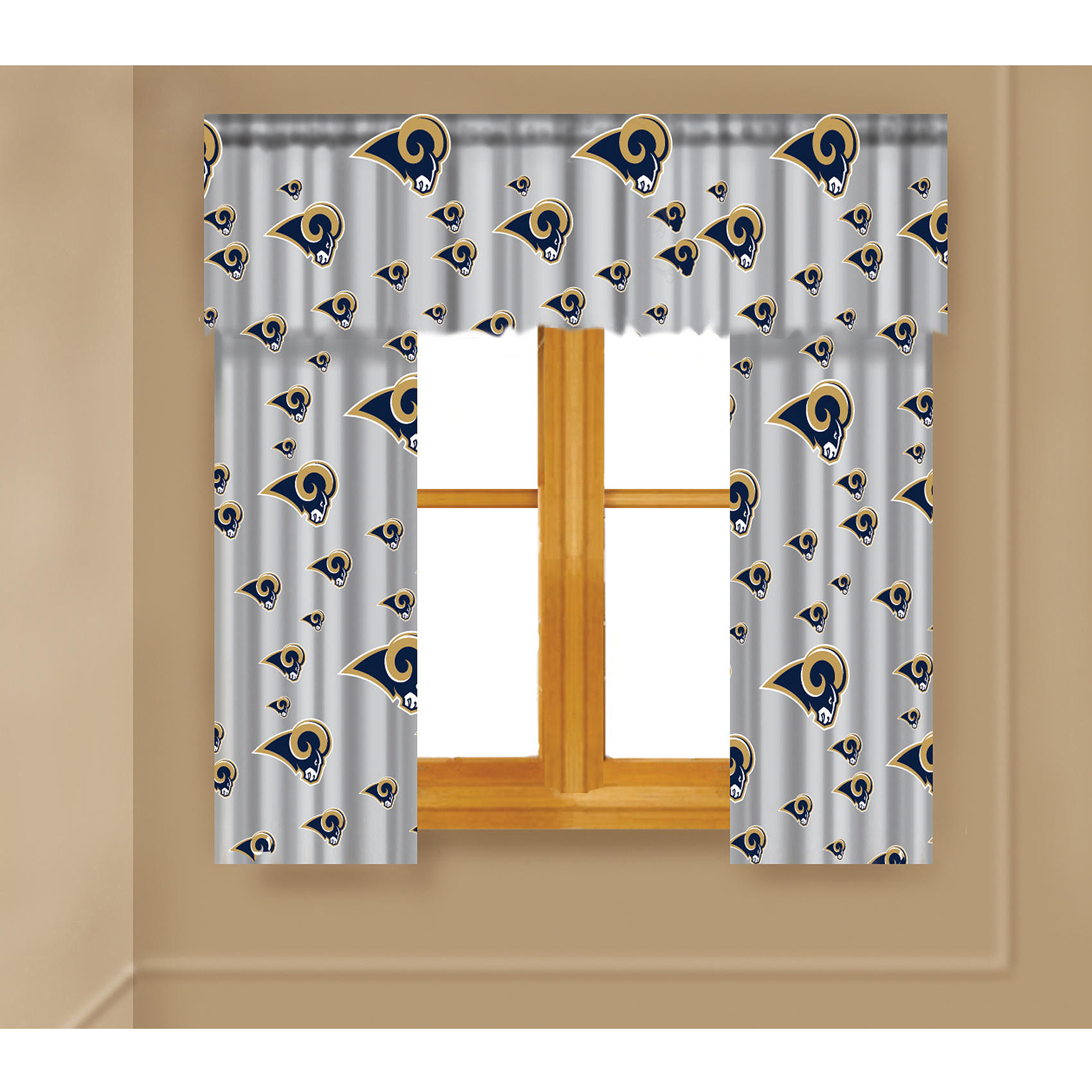 NFL St. Louis Rams Window Curtain Panels