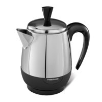 Farberware 2-4 Cup* Electric Percolator, Stainless Steel, FCP240