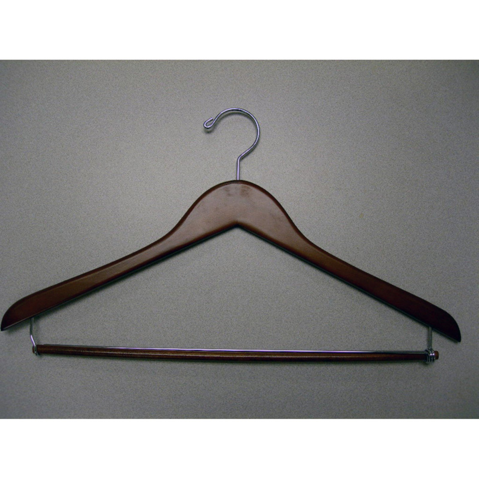 Proman Genesis Flat Suit Hanger with Lock Bar - 50 Pieces