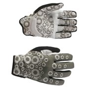 Pryme, Strange Gloves Adult S Gy/Wh