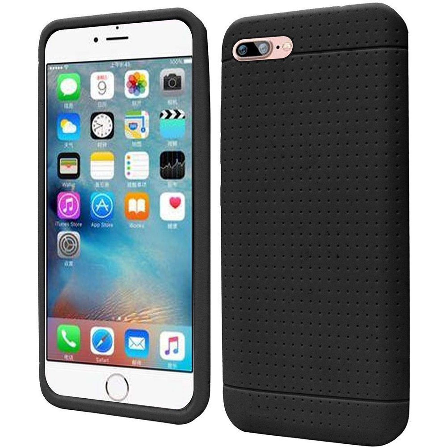Iphone 8 Case Iphone 7 Case By Insten Rugged Silicone Rubber Case