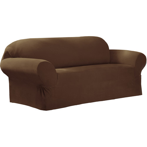 Maytex Stretch Collin 1 Piece Loveseat Furniture Cover Slipcover