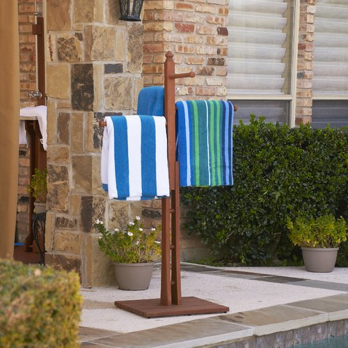 Wildon Home  June Eucalyptus Free Standing Towel Stand